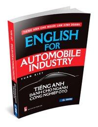 Tiếng Anh dành cho ngành Công Nghiệp Ô tô