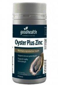 Tinh chất Hàu Oyster Plus – GoodHealth – 60 viên