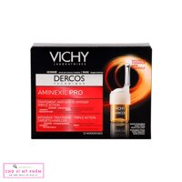 Tinh chat ngan ngua, giam rung toc cho nam Vichy Aminexil SP94 Anti Hairloss Treatment for Men Hop 12 x 6ml