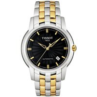Tissot Ballade III T97.2.483.51 Automatic Two Tone Black Dial 39mm