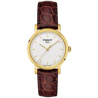 Tissot T-Classic T109.210.36.031.00 Everytime Small Brown Leather 30mm