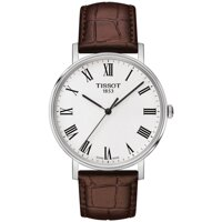 Tissot T-Classic T109.410.16.033.00 Everytime Medium Brown Leather 38mm