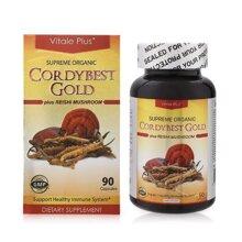 Viên uống bảo vệ sức khỏe Vitale Plus Cordy Best Gold 90 viên