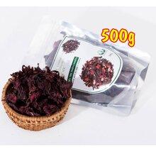 Trà Hoa Dâm Bụt (Hibicus) Sấy Khô Mộc Sắc 500g