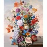 Tranh in canvas VTC LunaCV-0218 - bình hoa đẹp, 50 x 60cm