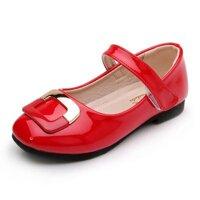 Trẻ Em Mùa Xuân Và Mùa Thu Giày Mẫu Mới Giày 2019 Kiểu Hàn Quốc Nhiều Kiểu Phối Đồ Giày Mùa Xuân Cô Gái Giày Da Giày Công Chúa Nông Miệng Giày Thường