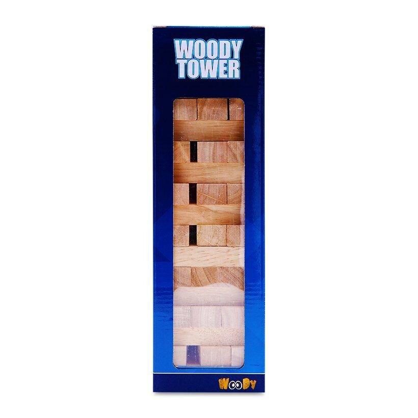 Bộ ghép hình tháp Woody tower