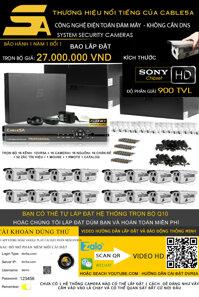 Tron bo camera quan sat DVR5A 16 kenh full HD Q10