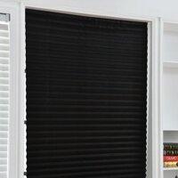 Tự dính Ban công văn phòng Shades Windows Half Blackout Cửa Trang trí nội thất Cà phê Phòng tắm Phòng khách Xếp li mù
