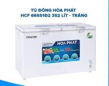 Tủ đông Hòa Phát HCF-666S1PĐ2 - 352L