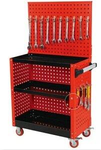 Tủ đựng đồ nghề 3 ngăn có bảng treo dụng cụ Kocu KC-318