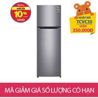 Tu lanh LG GN-L255PS, 272 lit, Inverter
