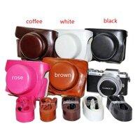 Túi da PU đựng bảo vệ cho camera Panasonic Lumix GF7 GF8 GF9 GF10