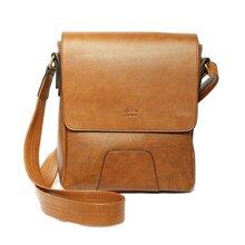 Túi đeo chéo thương hiệu Lata TN03 màu bò nhạt