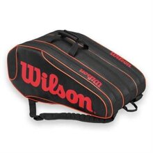 Túi tennis Wilson BURN TEAM 12 PK BKOR WRZ854512