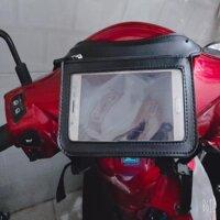 Túi treo đầu xe máy Ver 5.0 Mới nhất năm 2019 - M109 chuyên dụng dành chạy grab bee goviet xe ôm công nghệ dùng xem bảng đồ thành phố SIGATO SGT 239