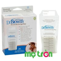 Túi trữ sữa mẹ đông lạnh Dr.Brown's 4005 (25 túi) không BPA