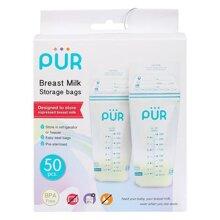 Hộp 50 túi trữ sữa Pur PUR6204 (250ml / túi)