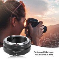 [UEB] FD-NZ Ống Kính Adapter Ring cho Canon FD to cho Nikon Z Máy Ảnh Không Gương Lật