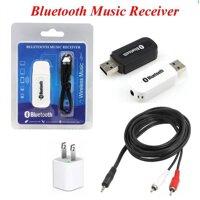 USB thu bluetooth DMZmusic 2 in 1 không dây (Đen)
