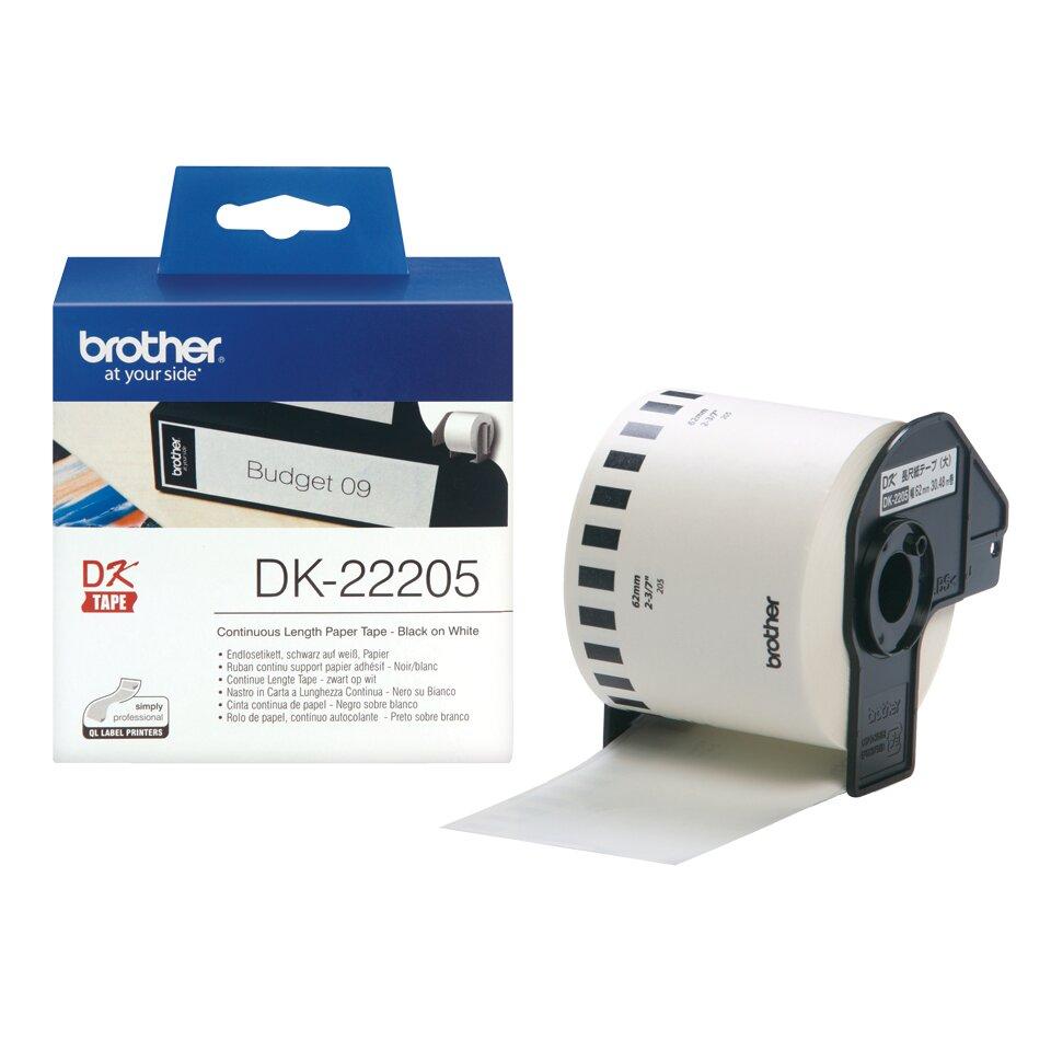 Băng nhãn Brother DK-22205