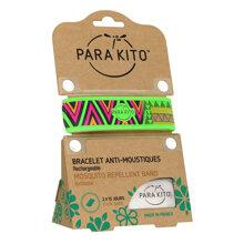 Viên chống muỗi kèm vòng đeo tay bằng vải Mosquito Repellent Black Band with 2 tablets (loại 2 viên)