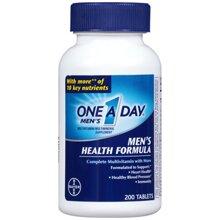 Thực phẩm chức năng One-A-Day Multivitamin Men's Health Formula - 200 viên
