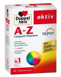 Vitamin tong hop cua Duc Doppelherz Aktiv A-Z 40 vien