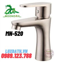 Vòi rửa lavabo nóng lạnh inox 304 Moonoah MN-520