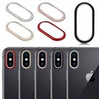 Vòng bảo vệ kính camera sau điện thoại Iphone X 7 8 Plus