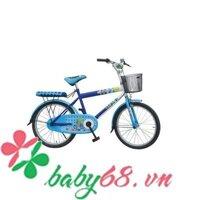 Xe đạp (3) bánh căm 2 màu 16 inch M834-X2B