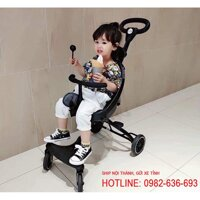 Xe đẩy đi bộ 2 chiều Baobaohao Only V1 cho bé (Màu Đen)
