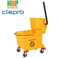Xe đẩy vắt cây lau nhà 1 ngăn Clepro CP-040