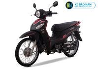Xe máy Angela 50cc Sym màu đen viền đỏ