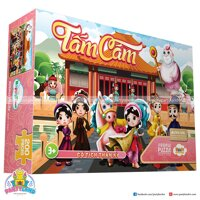 Xep hinh puzzle 200 manh – Chu de: Tam Cam
