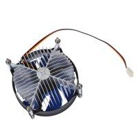 XYCP Processor Cooler CPU Heat Sink for 65W Intel Socket LGA 1155/1156 Core i3 / i5 / i7 Blue