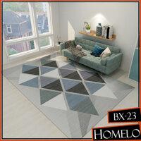 Zalalo 160X200 Cm BX Phong Cách Bắc Âu 3D Sàn Thảm Polyester Cao Cấp Phòng Ngủ Ghế Sofa Phòng Khách Thảm bàn Tập Yoga